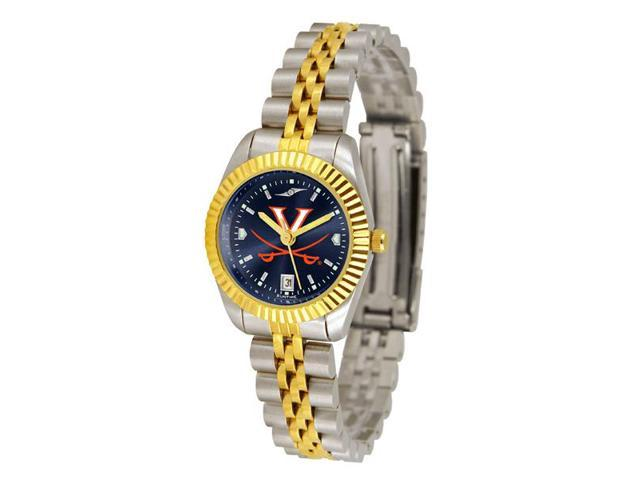 NCAA Virginia Cavaliers Ladies' Executive AnoChrome Watch
