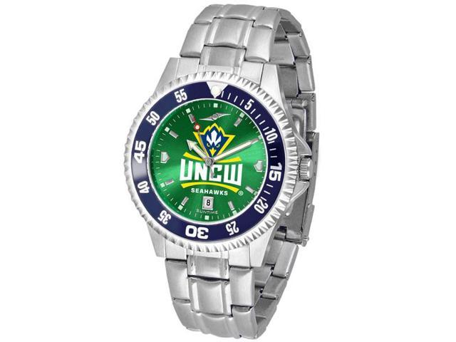NCAA Men's NC Wilmington Seahawks Competitor Steel AnoChrome CB Watch