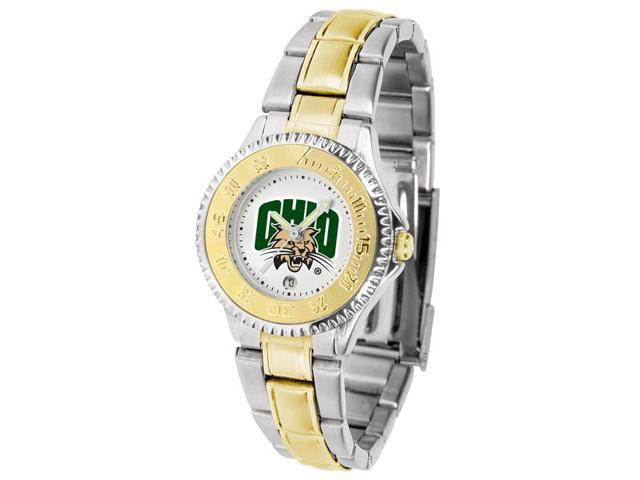 NCAA Ohio University Bobcats Competitor Ladies' Two-Tone Watch