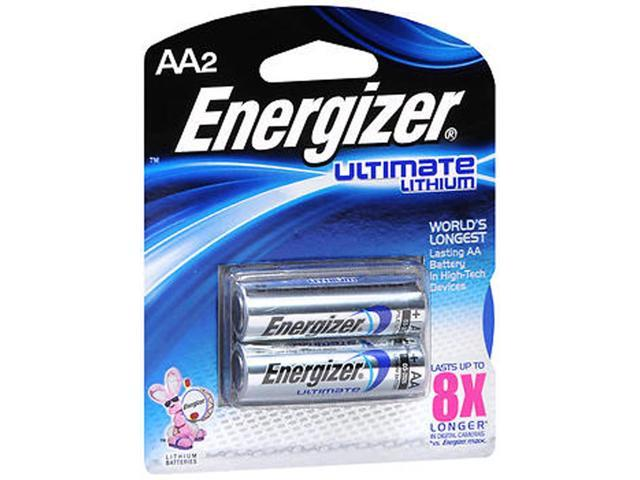 energizer ultimate lithium aa batteries 2pk. Black Bedroom Furniture Sets. Home Design Ideas