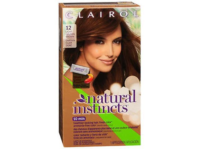 clairol clairol natural instincts 12 toasted almond light. Black Bedroom Furniture Sets. Home Design Ideas