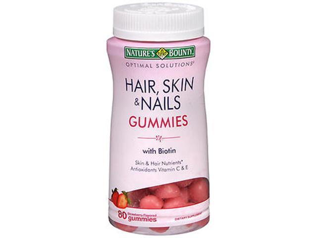 Nature S Bounty Hair Skin And Nails With Biotin