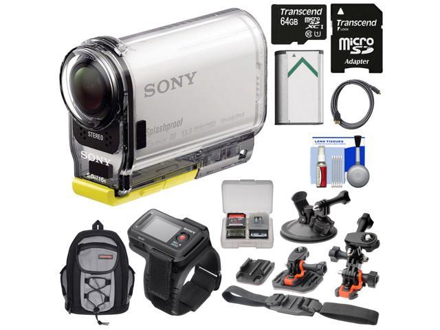 how to connect sony action cam to live view remote