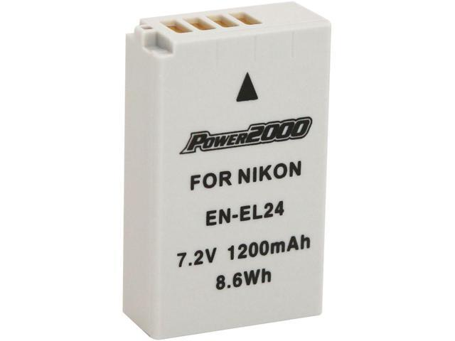 Power2000 ACD-432 Rechargeable Battery for Nikon EN-EL24