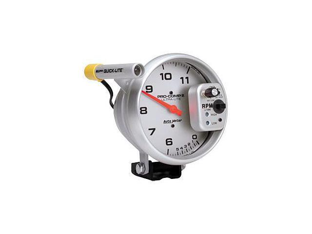Auto Meter 6855 Ultra-Lite Dual Range Tachometer