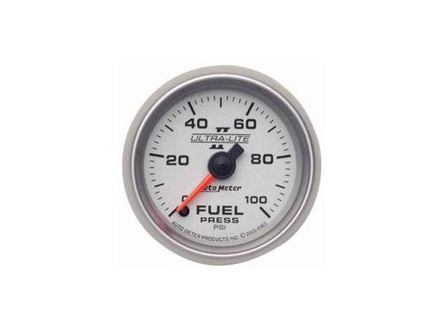 Auto Meter Ultra-Lite II Electric Fuel Pressure Gauge