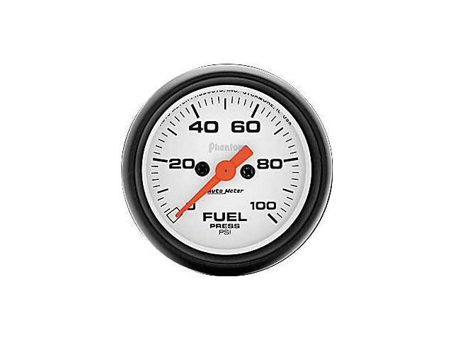 Auto Meter Phantom Electric Fuel Pressure Gauge