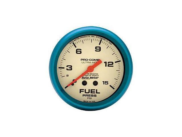 Auto Meter 4511 Ultra-Nite Fuel Pressure Gauge
