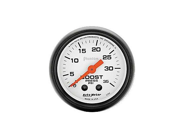 Auto Meter Phantom Mechanical Boost Gauge