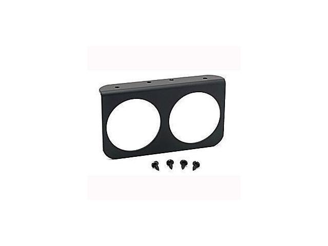 Auto Meter Black Aluminum Gauge Panel