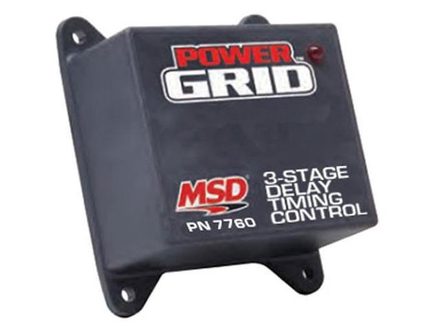 MSD Ignition 7760 Programmable 3-Stage Delay Timer