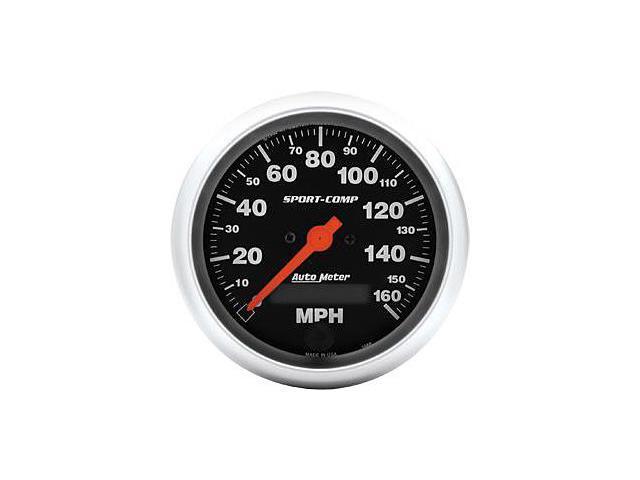 Auto Meter Sport-Comp Electric Programmable Speedometer