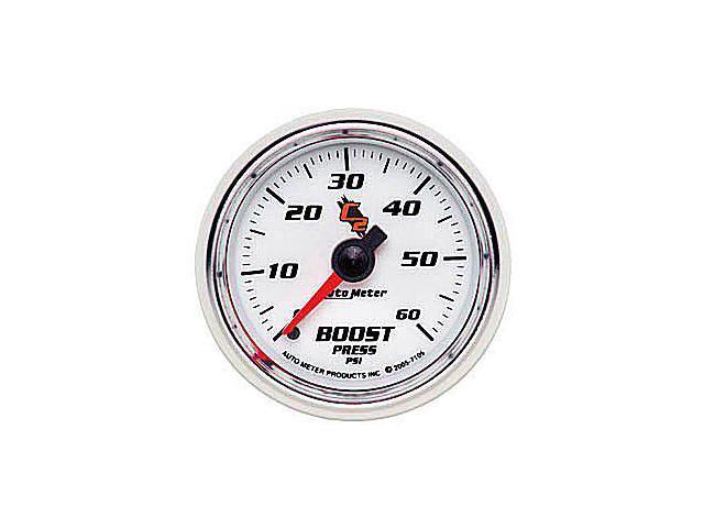Auto Meter C2 Mechanical Boost Gauge