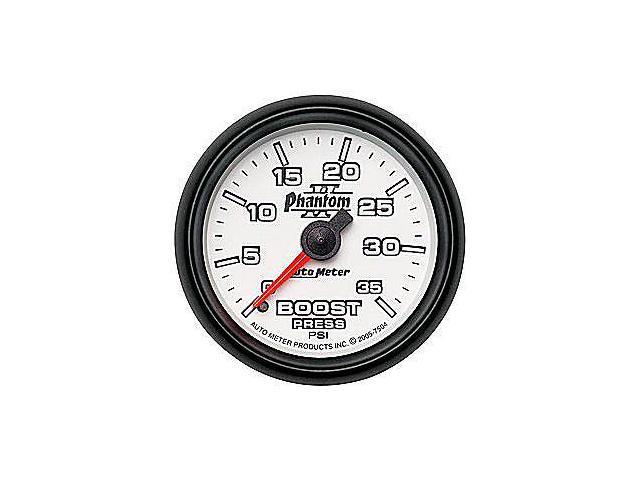 Auto Meter Phantom II Mechanical Boost Gauge