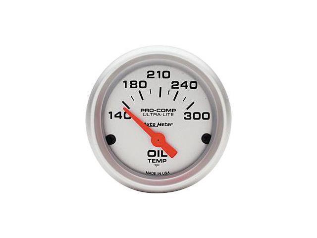 Auto Meter Ultra-Lite Electric Oil Temperature Gauge