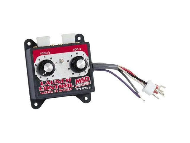 MSD Ignition RPM Controls Launch Control Module Selector