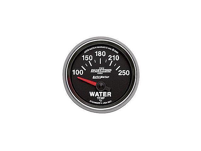 Auto Meter Sport-Comp II Electric Water Temperature Gauge