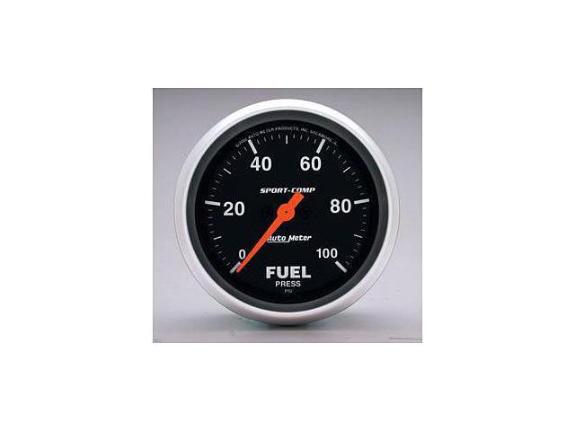 Auto Meter Sport-Comp Electric Fuel Pressure Gauge
