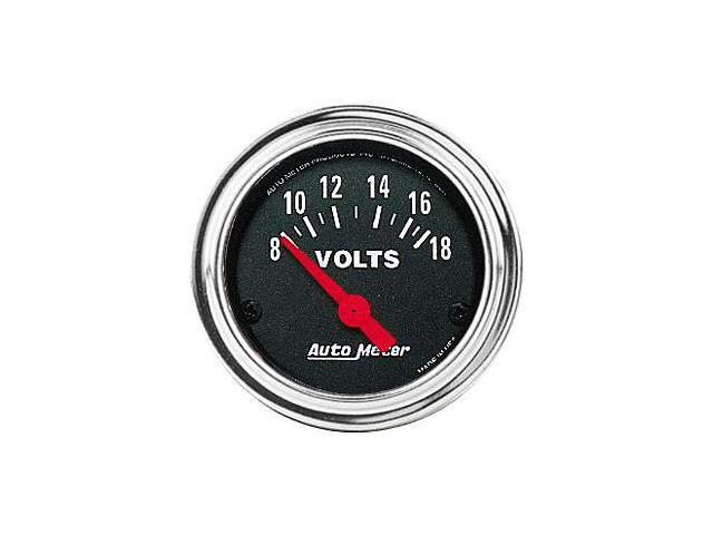 Auto Meter 2592 Traditional Chrome Voltmeter
