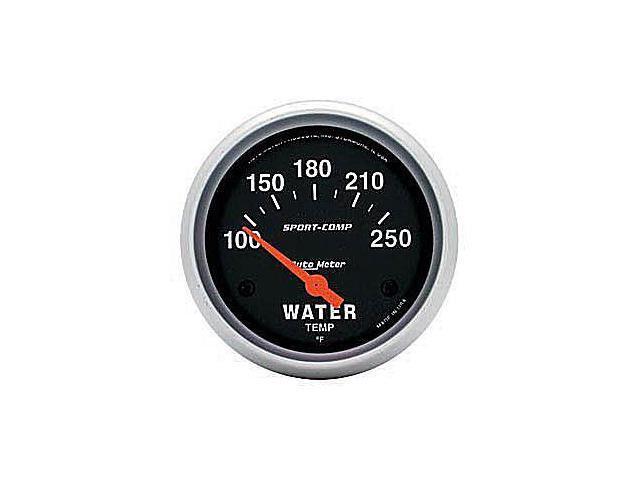 Auto Meter Sport-Comp Electric Water Temperature Gauge