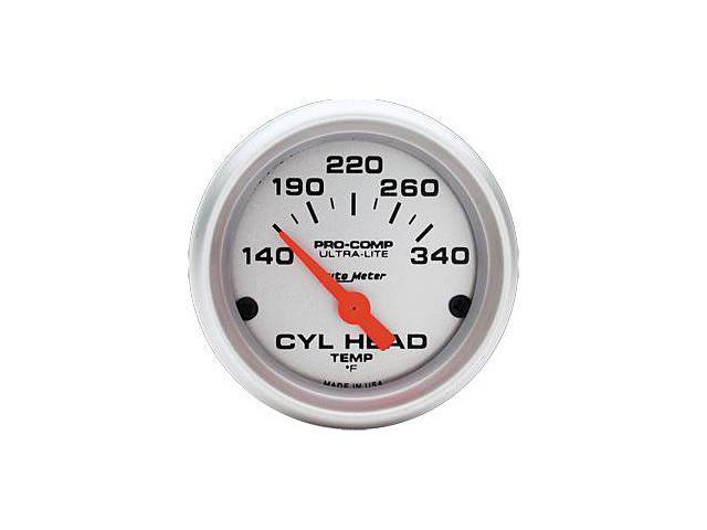 Auto Meter Ultra-Lite Electric Cylinder Head Temperature Gauge