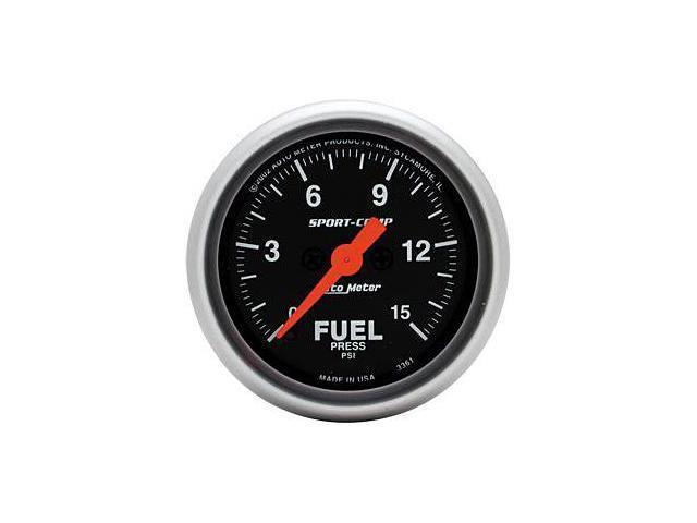 Auto Meter Sport-Comp Electric Fuel Pressure Gauge