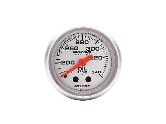 Auto Meter Ultra-Lite Mechanical Oil Tank Temperature Gauge