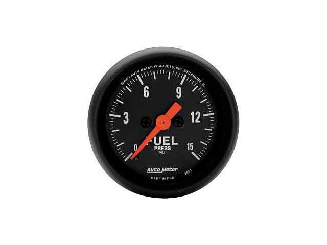 Auto Meter 2661 Z-Series Electric Fuel Pressure Gauge