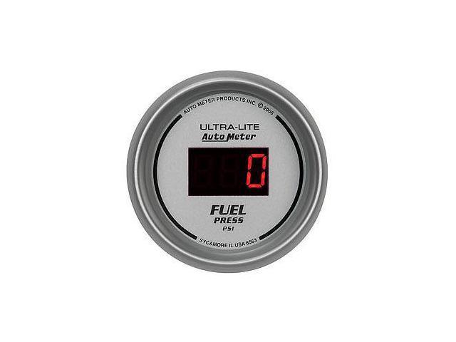 """Auto Meter 6563 2-1/16"""" Ultra-Lite Digital Fuel Pressure Gauge"""