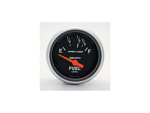 Auto Meter Sport-Comp Electric Fuel Level Gauge