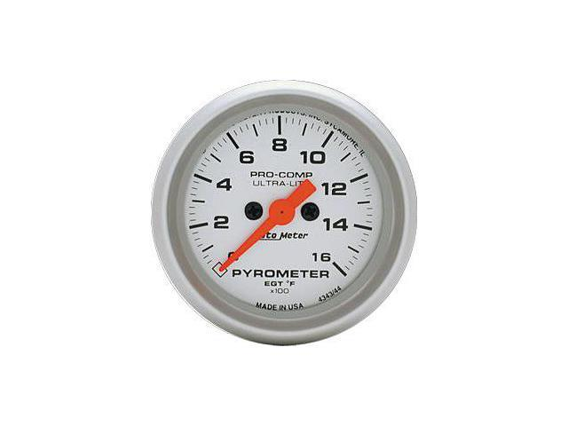 Auto Meter Ultra-Lite Electric Pyrometer Gauge Kit