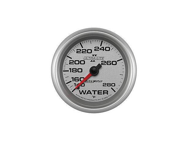 Auto Meter 7731 Ultra-Lite II; Mechanical Water Temperature Gauge