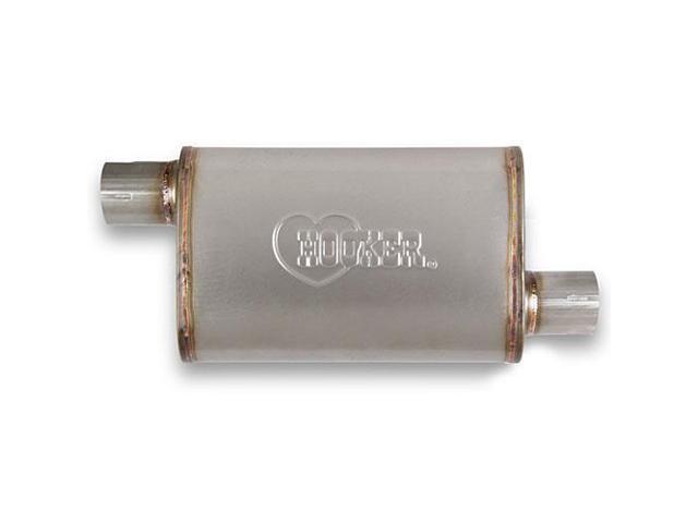 Hooker Headers 21643 VR304 Satin Stainless Steel Muffler