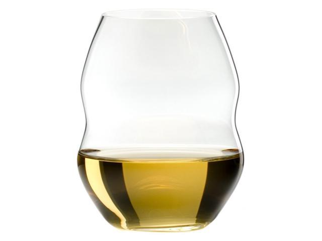 Riedel swirl stemless white wine glass set of 2 - Riedel swirl white wine glasses ...