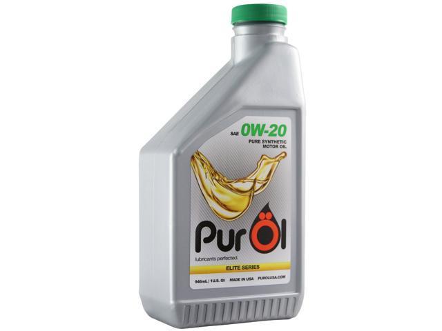 Purol Elite Synthetic Motor Oil 0w20 1 Liter Bottle