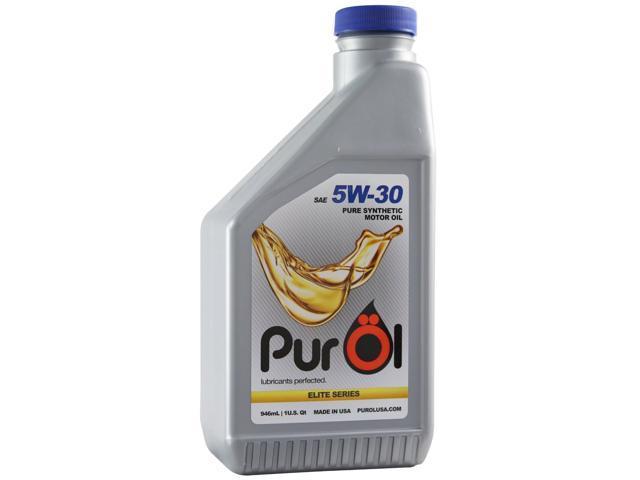 Purol elite synthetic motor oil 5w30 1 liter bottle for Pure synthetic motor oil