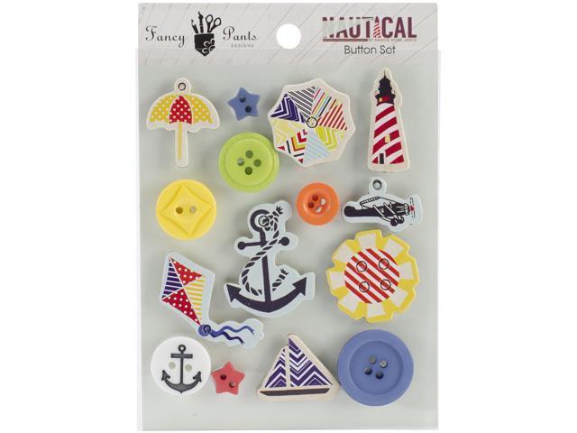 Nautical Button Set 14/Pkg-