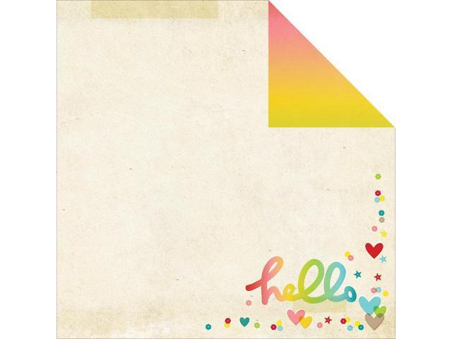 Good Day Sunshine Double-Sided Cardstock 12