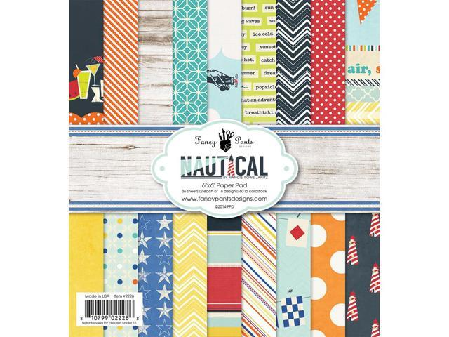 Nautical Paper Pad 6