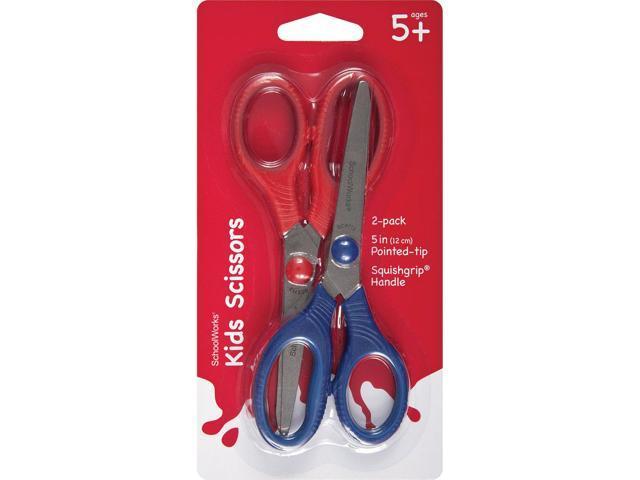 Schoolworks Kids Squishgrip Pointed Tip Scissors 5