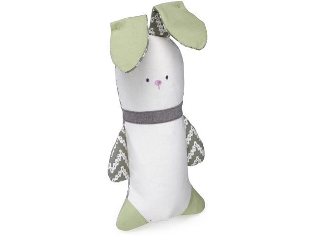 Loved Ones Crinkle Bunny Dog Toy-Green