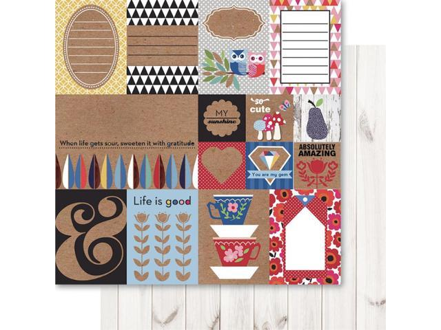 Handi Scandi Double-Sided Cardstock 12