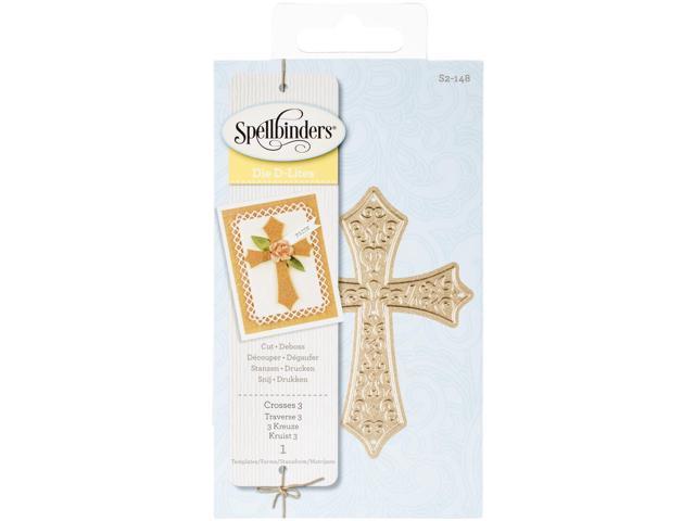 Spellbinders Shapeabilities Die D-Lites-Crosses 3