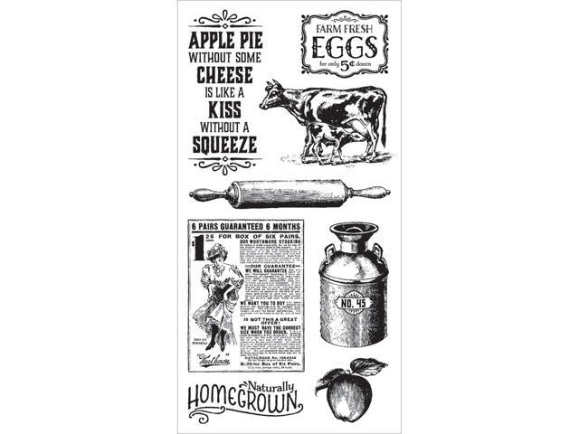 Graphic 45 Home Sweet Home Cling Stamps-#2