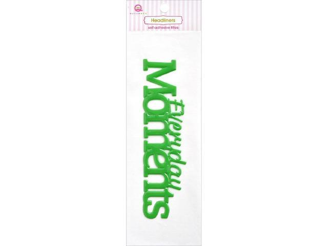 Headliners Self-Adhesive Vinyl Titles-Everyday - Moments