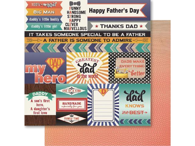 Father Double-Sided Cardstock 12