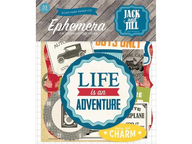Jack & Jill Boy Ephemera Cardstock Die-Cuts-