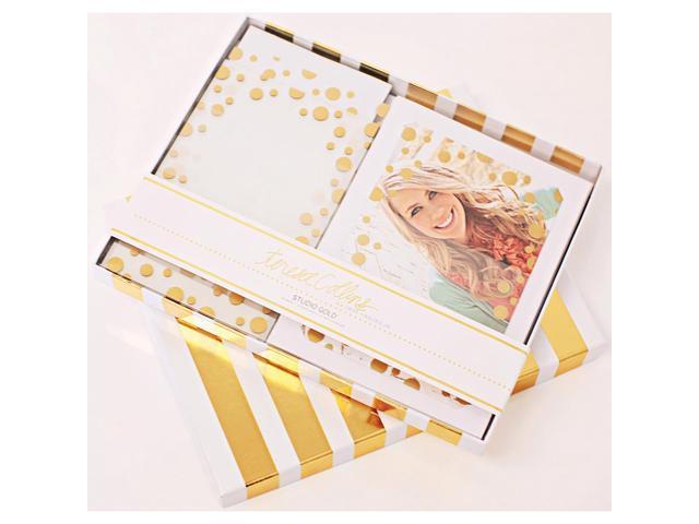 Studio Gold Overlay Card Kit 10/Pkg-