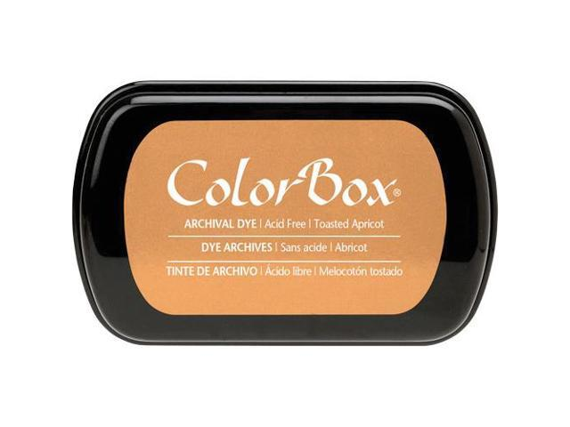 Colorbox Archival Dye Full Size Ink Pad-Toasted Apricot