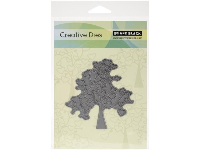 Penny Black Creative Dies-Tree Of Love, 3.5